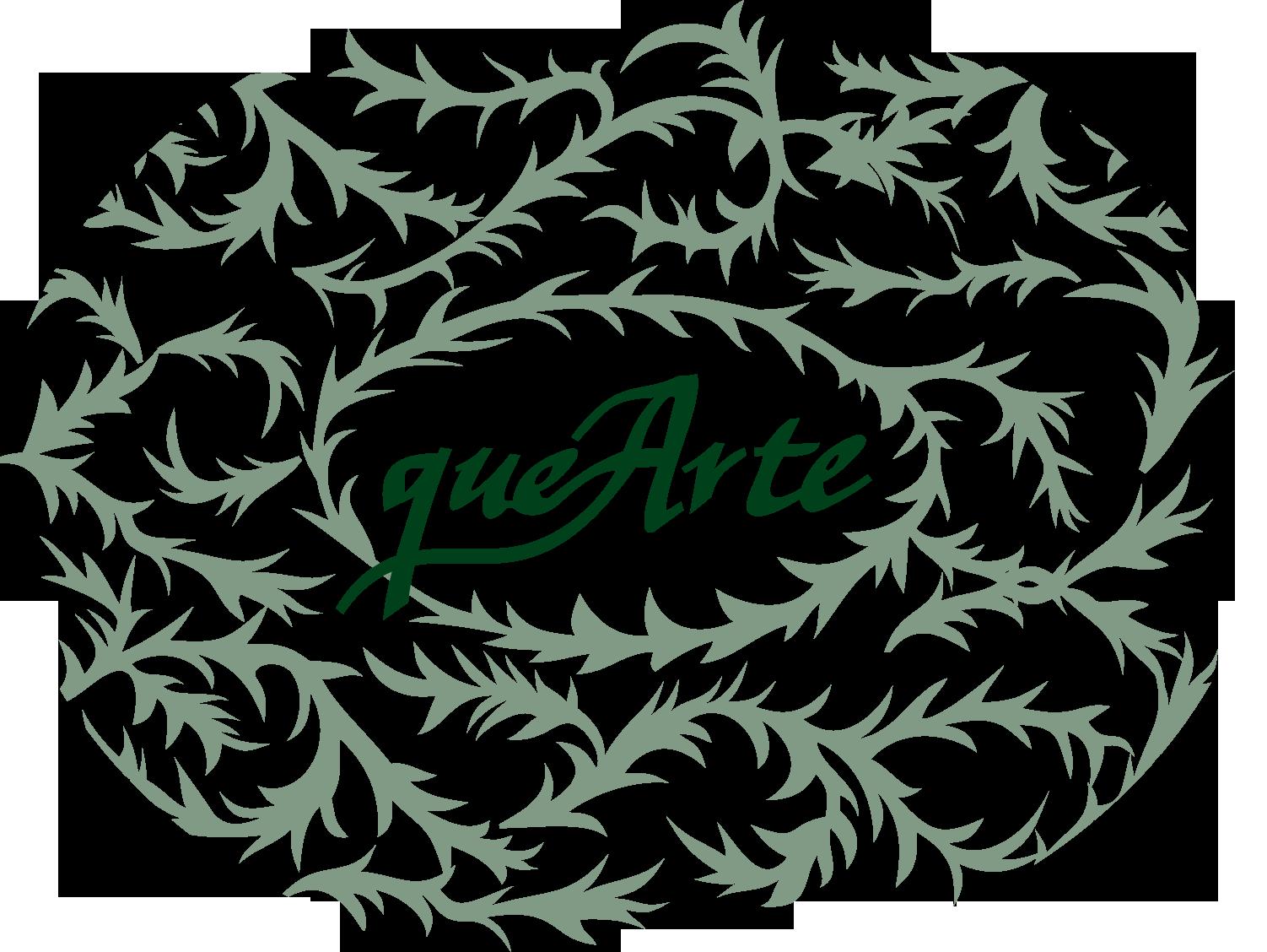 Que arte caligrafía Logo
